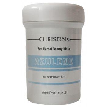 Азуленовая маска красоты для чувствительной кожи - Christina Sea Herbal Beauty Mask Azulene For Sensitive Skin