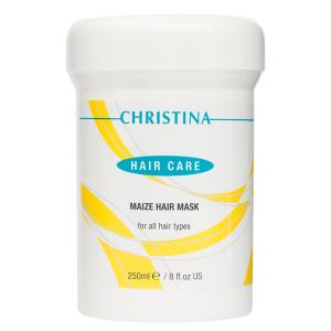 Кукурузная маска для волос, 250мл - Christina Maize Hair Mask For All Hair Types