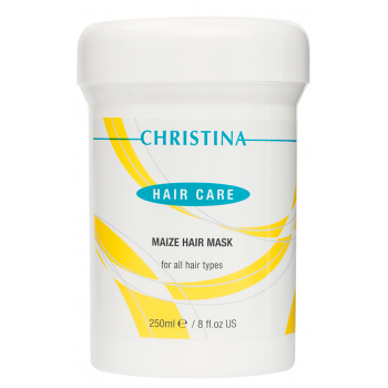 Маска кукурузная для всех типов волос Кристина - Christina Maize Hair Mask For All Hair Types