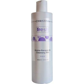 Арома-терапевтическое очищающее молочко для сухой кожи (Кристина) - Christina Fresh-Aroma Theraputic Cleansing Milk