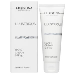 Защитный крем для рук SPF15, 75мл - Christina Illustrious Hand Cream SPF15