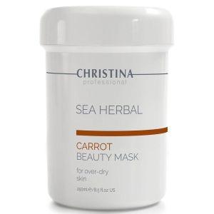Морковная маска красоты, 250мл - Christina Sea Herbal Beauty Mask Carrot