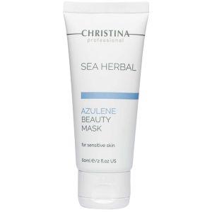 Маска азуленовая для чувствительной кожи, 60мл - Christina Sea Herbal Beauty Mask Azulene Sensitive Skin