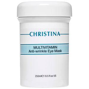 Мультивитаминная маска вокруг глаз, 250мл - Christina Multivitamin Anti-Wrinkle Eye Mask