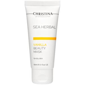 Ванильная маска красоты для сухой кожи, 60мл - Christina Sea Herbal Beauty Mask Vanilla Dry Skin