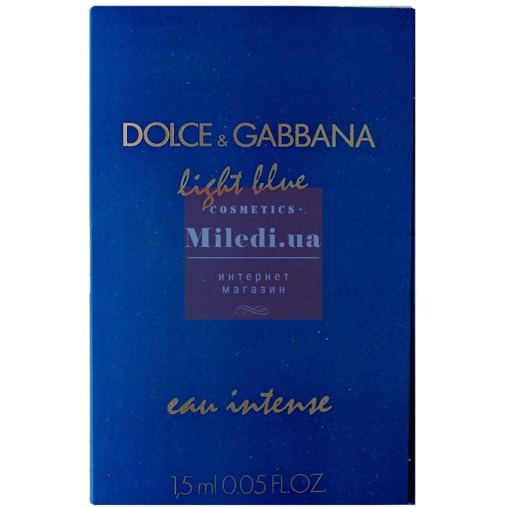 Dolce & Gabbana Light Blue Eau Intense edp 1.5ml - Парфюмированная вода пробник