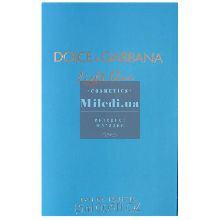 Dolce & Gabbana Light Blue edt 1.5ml - Туалетная вода пробник