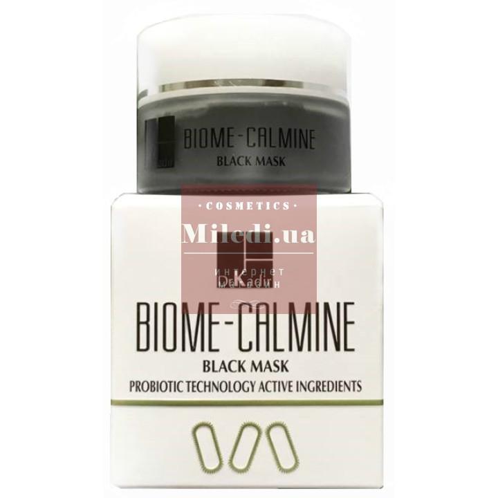 Антивозрастная черная маска для лица - Dr. Kadir Biome-Calmine Black Mask