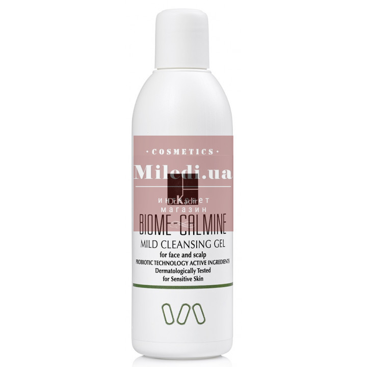 Мягкий очищающий гель для умывания - Dr. Kadir Biome-Calmine Mild Cleansing Gel, 250мл