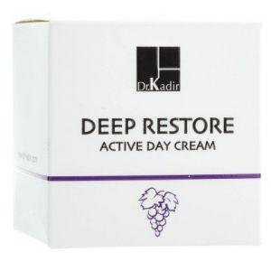 Активный дневной крем для восстановления кожи - Dr. Kadir Deep Restore Active Day Cream