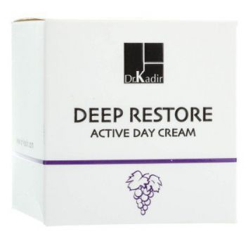 Крем активный дневной для восстановления кожи лица - Dr. Kadir Deep Restore Active Day Cream