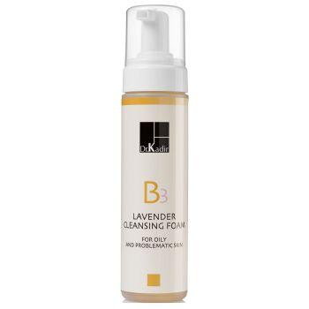 Пенка очищающая с лавандой для проблемной кожи лица - Dr. Kadir B3 Lavender Cleansing Foam