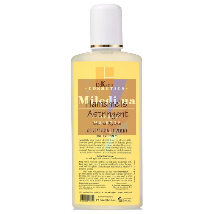 Тоник очищающий для жирной кожи лица с гамамелисом - Dr. Kadir Hamamelis Astringent Tonic For Oily Skin