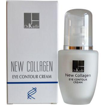 Антивозрастной крем для кожи вокруг глаз с микроколлагеном (Др. Кадир) - Dr. Kadir New Collagen Eye Contour Cream