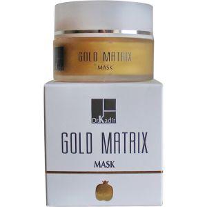Антивозрастная золотая маска для зрелой кожи лица (Др. Кадир) - Dr. Kadir Gold Matrix Mask