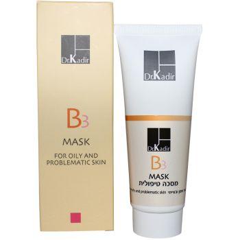 Маска лечебная для жирной проблемной кожи - Dr. Kadir B3 Treatment Mask For Oily And Problematic Skin