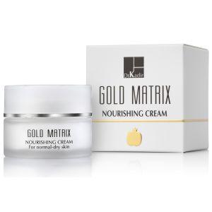 Антивозрастной питательный крем для сухой кожи (Др Кадир) - Dr. Kadir Gold Matrix Nourishing Cream For Normal to Dry Skin