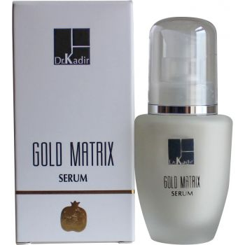 Антивозрастная сыворотка, 50мл - Dr. Kadir Gold Matrix Anti Aging Serum