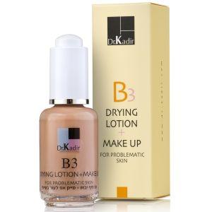 Тонирующая подсушивающая эмульсия для проблемной кожи (Др Кадир) - Dr. Kadir B3 Drying Lotion + Make Up