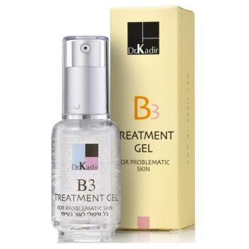 Гель лечебный для проблемной кожи лица - Dr. Kadir B3 Treatment Gel For Problematic Skin