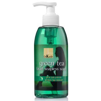 Гель для очищения кожи лица Зеленый чай - Dr. Kadir Green Tea Facial Soapless Soap