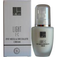Крем для кожи вокруг глаз и шеи c витаминами Е и С (Доктор Кадир) - Dr. Kadir Light E+C Eye Neck