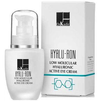 Крем активный для кожи вокруг глаз с гиалуроновой кислотой - Dr. Kadir Hyalu-Ron Low Molecular Hyaluronic Eye Cream