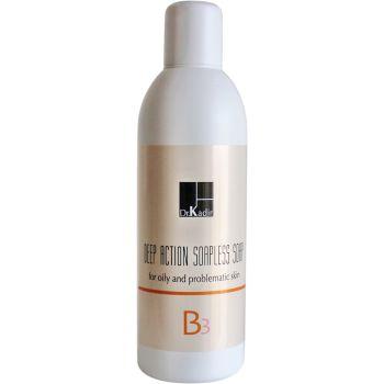 Гель для очищения проблемной кожи - Dr. Kadir B3 Deep Action Soapless Soap