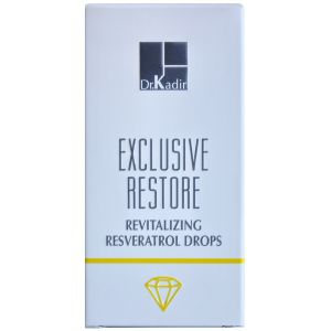 Капли Ресвератрол, 2х10мл - Dr. Kadir Exclusive Restore Revitalizing Resveratrol Drops