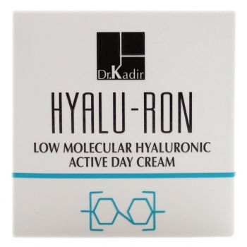 Гиалуроновый дневной крем, 50мл - Dr. Kadir Hyalu-Ron Low Molecular Hyaluronic Active Day Cream