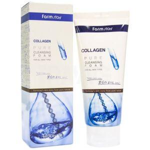 Пенка для умывания с коллагеном (Фармстей) - FarmStay Collagen Pure