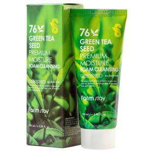 Пенка для умывания с зеленым чаем (Фармстей) - FarmStay Green Tea Seed