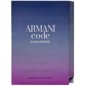 Giorgio Armani Armani Code Cashmere edp 1.2ml - Парфюмированная вода пробник