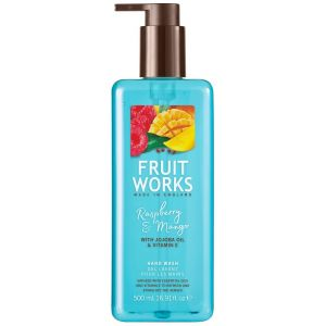 Жидкое мыло Малина и манго, 500мл - Grace Cole Fruit Works Raspberry & Mango Hand Wash