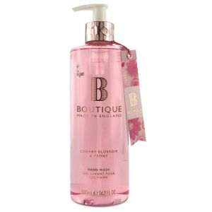 Жидкое мыло Вишневый цвет и пион, 500мл - Grace Cole Boutique Cherry Blossom & Peony Hand Wash