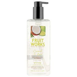 Жидкое мыло Кокос и лайм, 500мл - Grace Cole Fruit Works Coconut & Lime Hand Wash