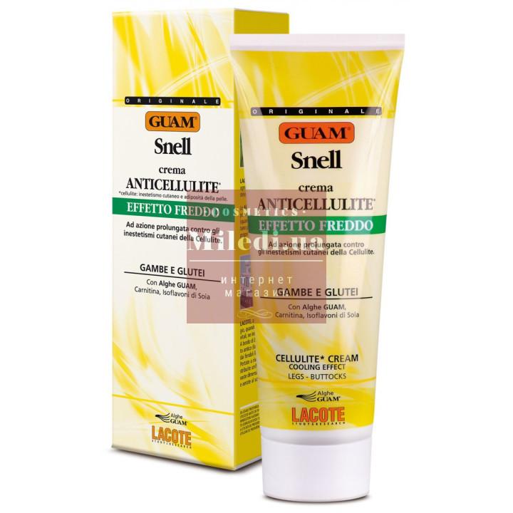 Крем антицеллюлитный для тела Холодная формула - Guam Crema Anticellulite Snell Effetto Freddo
