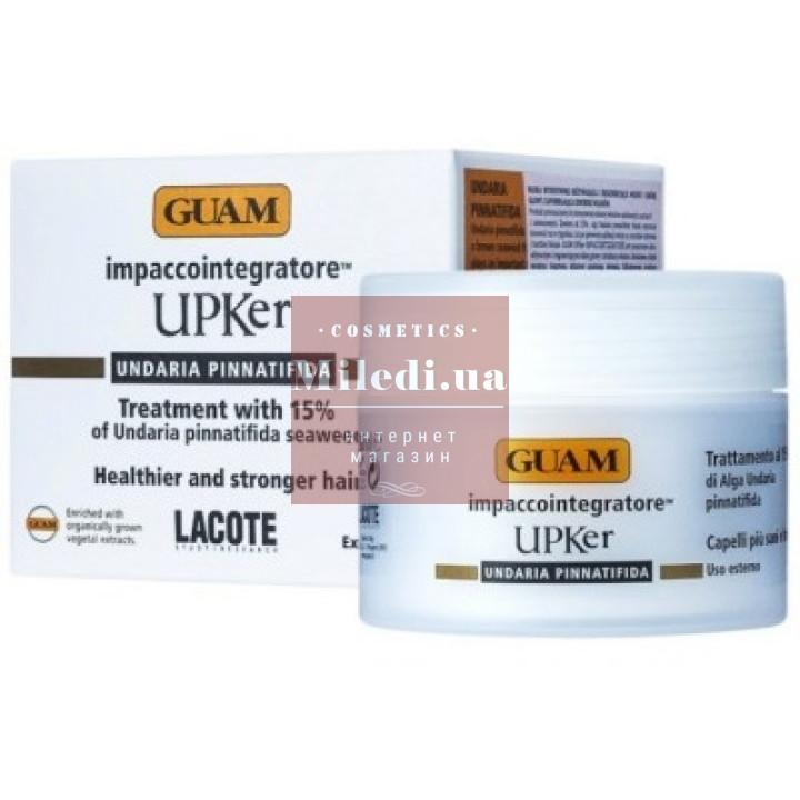 Маска интенсивно питательная для волос - Guam UPKer Trattamento Al 15% di Alga Undaria Pinnatifida