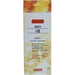 Антицеллюлитное масло с дренажным эффектом, 200мл - Guam Olio Corpo Dren