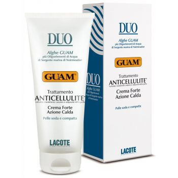 Антицеллюлитный охлаждающий крем, 200мл - Guam Duo Trattamento Anticellulite Crema Forte Azione Calda