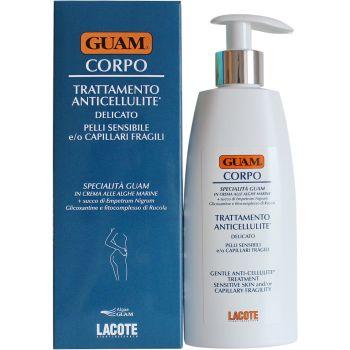 Антицеллюлитный крем для чувствительной кожи с хрупкими капиллярами (Гуам) - Guam Corpo Trattamento Anticellulite Delicato