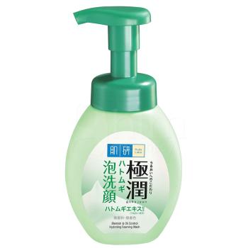 Лечебная пенка для проблемной кожи лица - Hada Labo Gokujyun Hatomugi Foaming Face Wash