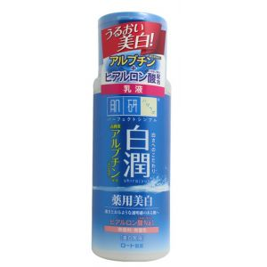 Отбеливающее молочко с арбутином, 140мл - Hada Labo Shirojyun Medicated Whitening Milk