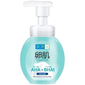 Мягкая пенка-пилинг, 160мл - Hada Labo AHA+BHA Exfolication Face Wash