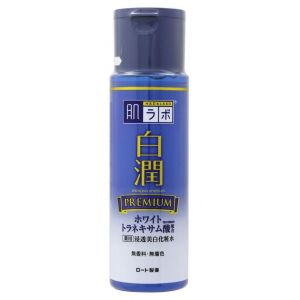 Отбеливающий лосьон с транексамовой кислотой, 170мл - Hada Labo Shirojyun Premium Medicated Whitening Lotion