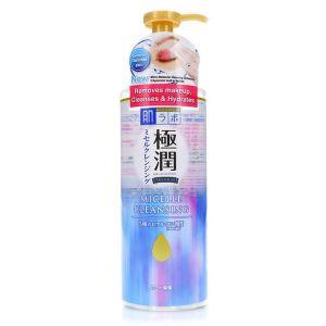 Мицеллярная вода с гиалуроновой кислотой, 330мл - Hada Labo Gokujyun Premium Hyaluronic Acid Micelle Cleansing