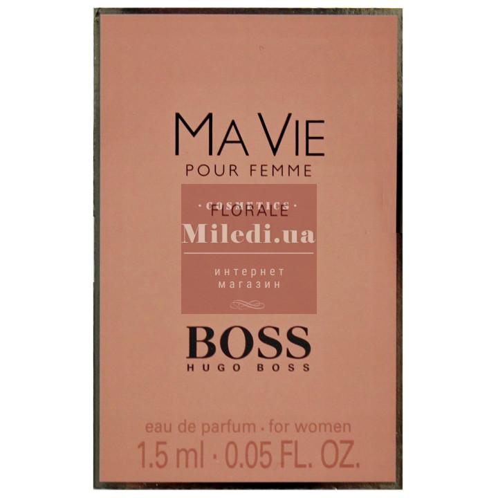 Hugo Boss Boss Ma Vie Pour Femme Florale edp 1.5ml - Парфюмированная вода пробник