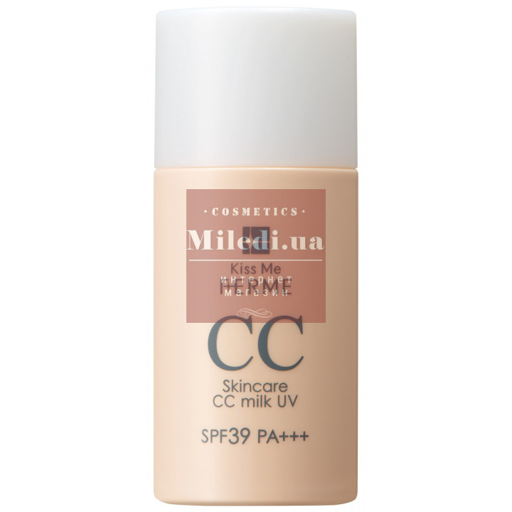 CC Эссенция для лица SPF39 - Isehan Kiss Me Ferme Skincare CC Milk UV SPF39 РA+++