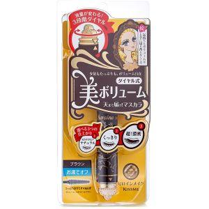 Тушь для ресниц «3 объема» коричневая, шт - Isehan Heroine Make Volume Control Mascara 02 Brown
