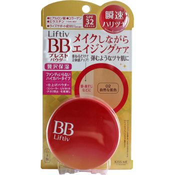 ББ Пудра улучшающая упругость кожи, 34гр - Isehan Liftiv BB Powder SPF32